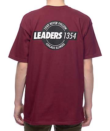 Leaders Interlock Seal Maroon T-Shirt