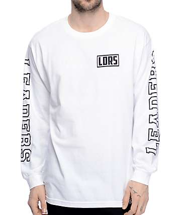 Leaders Jumbo White Long Sleeve T-Shirt