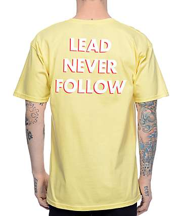 Leaders L Wing LNF Yellow T-Shirt