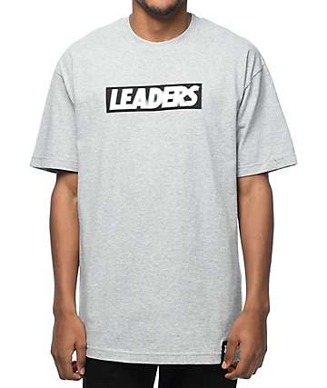 Leaders Leader Blur Grey T-Shirt