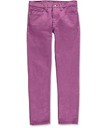 Levi 511 Grape Kiss jeans estrechos en morado