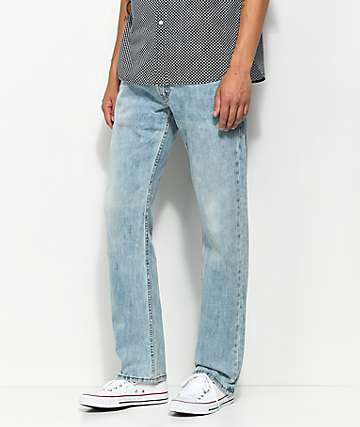 Levi's 502 Blue Stone Wash Regular Fit Jeans