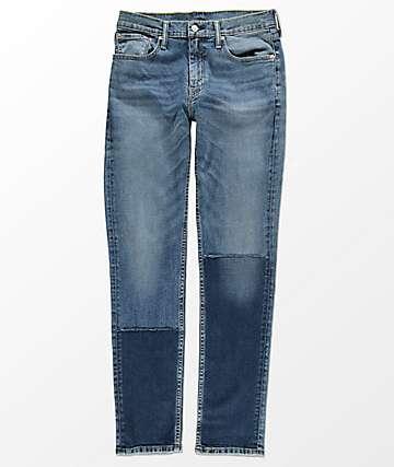 Levi's 511 Mischief Slim Fit Fused Blue Jeans