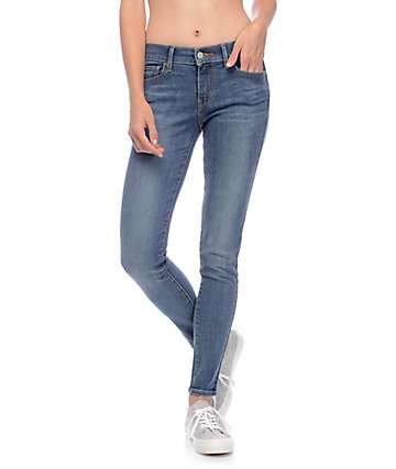 Levi's 710 Medium Waterfront Wash Super Skinny Jeans