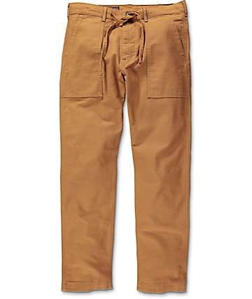 Levi's Battalion Brown Twill 502 Pants