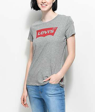 Levi's Batwing Heather Grey T-Shirt