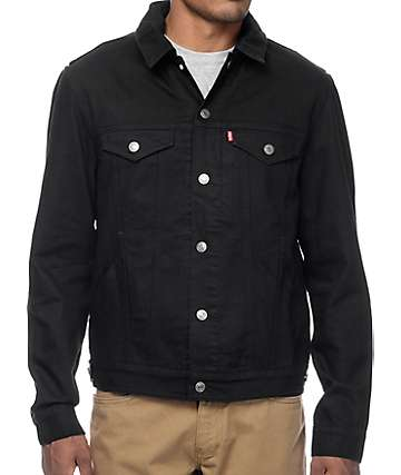 Levi's Black Commuter Hooded Trucker Jacket II