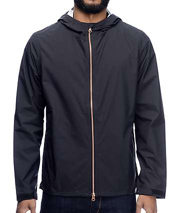 Levi's Commuter Echelon Jet Black Windbreaker Jacket