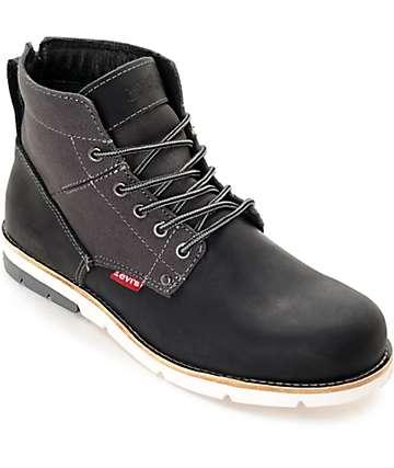Levi's Jax Black & Charcoal Boots
