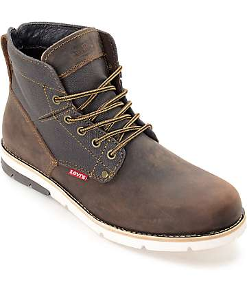 Levi's Jax Brown & Charcoal Boots