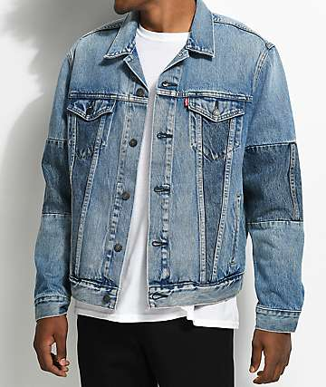 Levi's The Trucker Pieced Jigsaw Denim Jacket