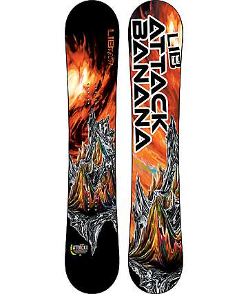 Lib Tech Attack Banana 161cm Snowboard