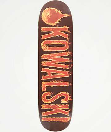 "Lifeblood Kowalski Flame Logo 8.38"" Skateboard Deck"