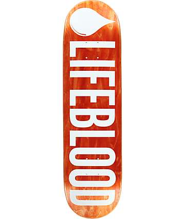 "Lifeblood Logo 8.5"" Skateboard Deck"