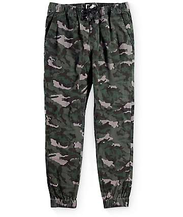 Lira Weekend Camo Twill Jogger Pants