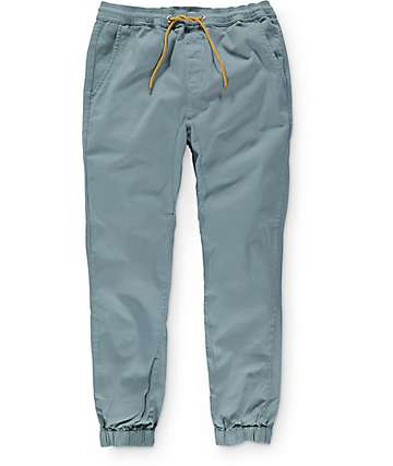 Lira Weekend Sage Twill Jogger Pants