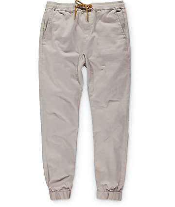 Lira Weekend Stone Twill Jogger Pants