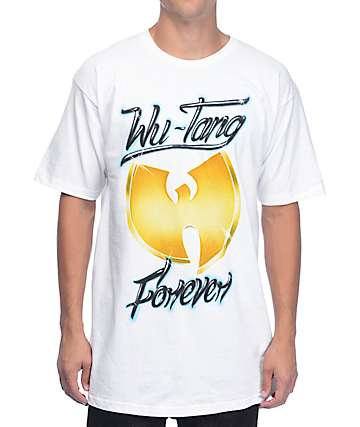 Live Nation WuTang Airbrush White T-Shirt