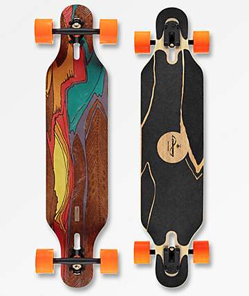 "Loaded Icarus Flex 2 38.5""  Drop Through Longboard Complete"