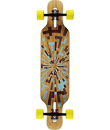 "Loaded Tan Tien Flex 2 39""  Drop Through Longboard Complete"