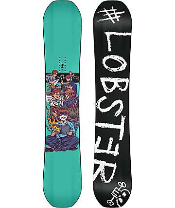Lobster Park Board 156cm Wide Snowboard