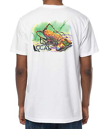 Local Florida Lobster White T-Shirt