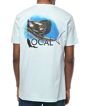 Local Florida Sail Light Blue T-Shirt