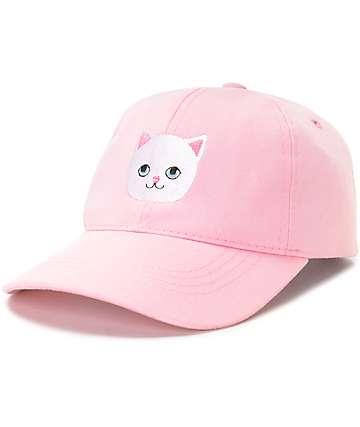 Local Heroes Kitten gorra béisbol en rosa
