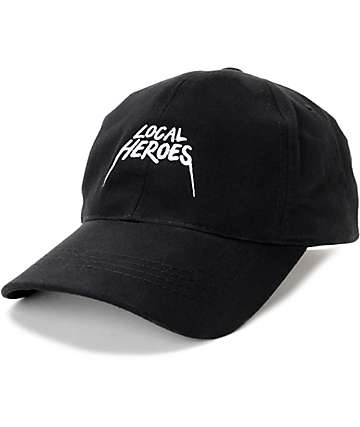 Local Heroes Tour Black Baseball Hat