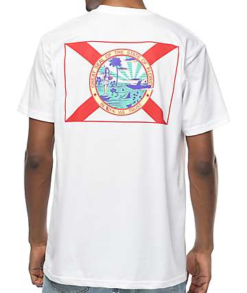 Local In Florida We Trust White T-Shirt