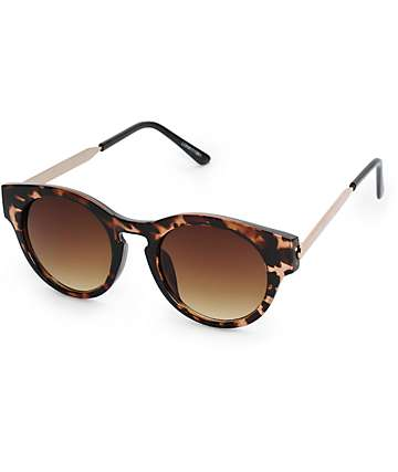 Lohan Catty Tortoise Sunglasses