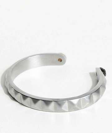 Lokai Cuff Silver Bracelet