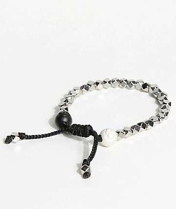 Lokai Multi Bead Silver Bracelet