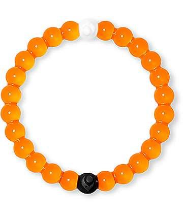 Lokai pulsera en color naranja