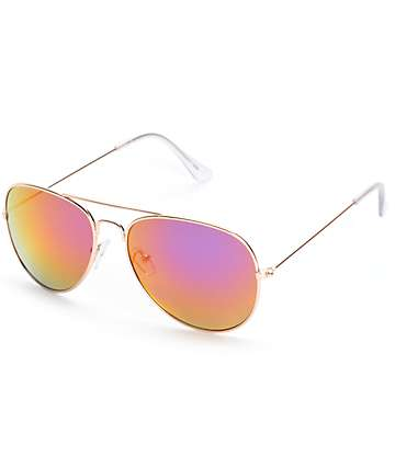 Lonx Revo Aviator Sunglasses