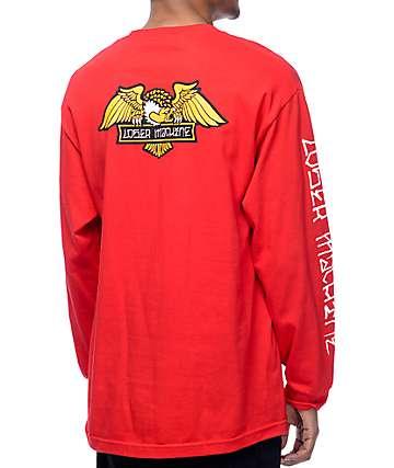 Loser Machine Alleyway camiseta roja de manga larga