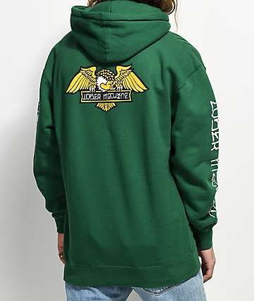 Loser Machine Co. Alleyway Green Hoodie