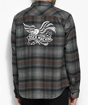 Loser Machine Co. Grant Grey Flannel