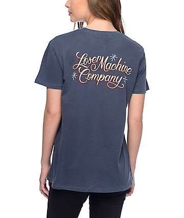 Loser Machine El Camino Navy T-Shirt