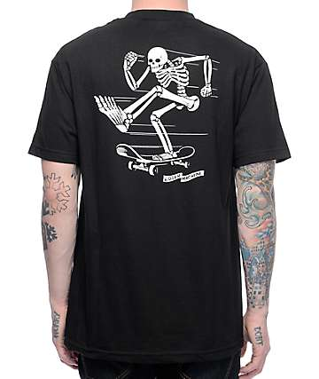 Loser Machine Pusherman Black T-Shirt