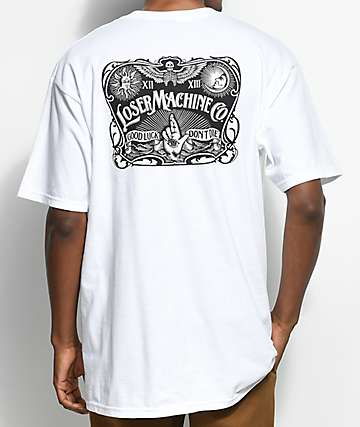 Loser Machine Ritualistic White T-Shirt