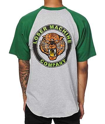 Loser Machine Tiger Eye Baseball T-Shirt