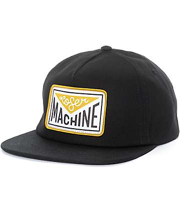 Loser Machine Well Black Snapback Hat