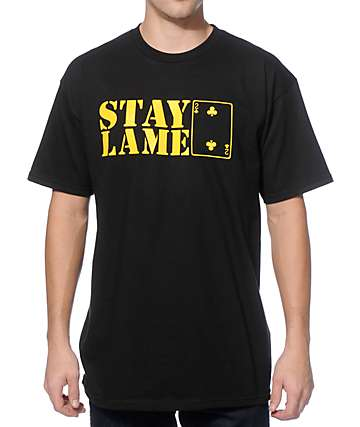 Low Card Stay Lame T-Shirt