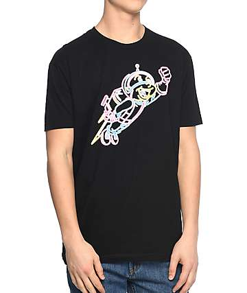 Luckie Losers Neon Rocket Black T-Shirt