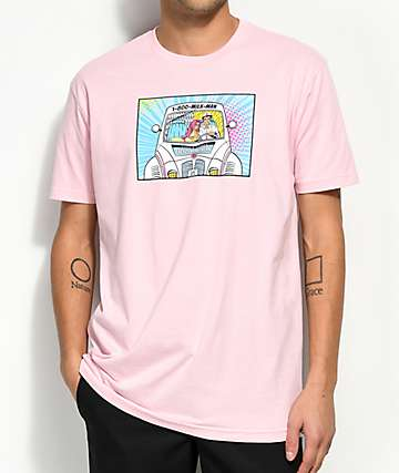 Luckie Losers x Exclusive Delivery Pink T-Shirt