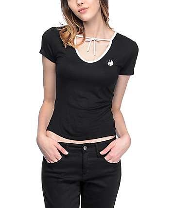 Lunachix Miya Yin Yang camiseta en blanco y negro