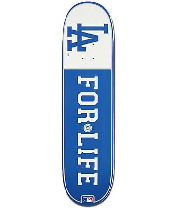 "MLB Element Dodgers For Life 8.0"" Skateboard Deck"