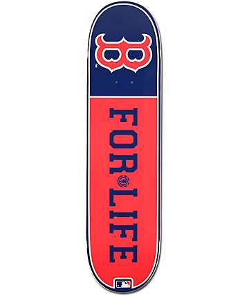 "MLB Element Red Sox For Life 8.0""  Skateboard Deck"