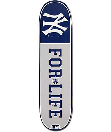 "MLB Element Yankees For Life 8.0""  Skateboard Deck"